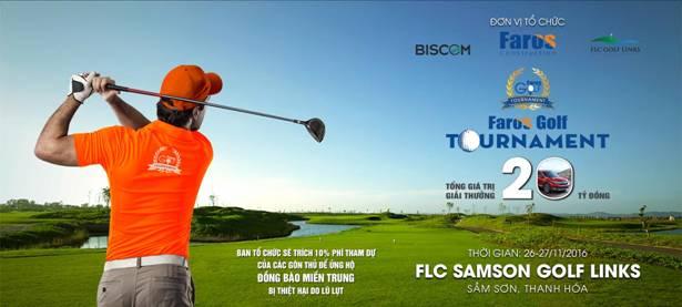 Voucher FLC Samson siêu hấp dẫn dành tặng gôn thủ Faros Golf Tournament lần 2