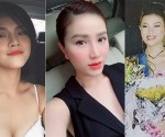 """""""Lan cave"""" của Quỳnh búp bê tiết lộ ảnh đăng quang Á hậu 12 năm trước"""