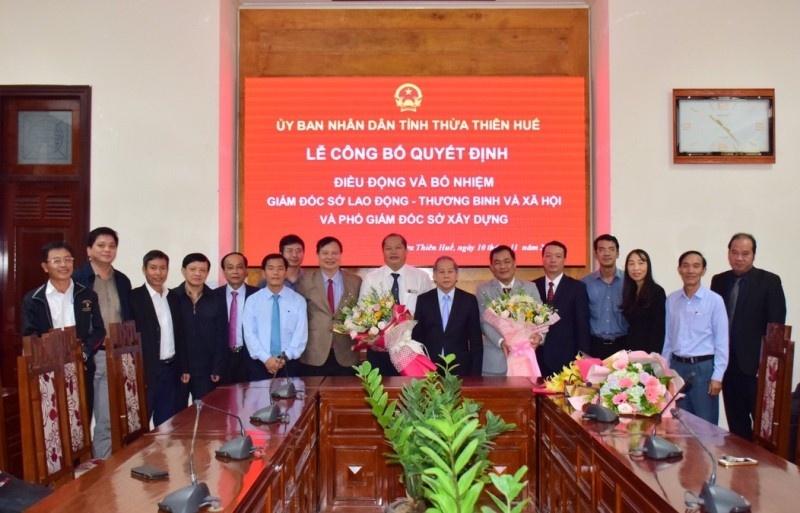 Bổ nhiệm Phó Giám đốc phụ trách Sở Xây dựng Thừa Thiên - Huế
