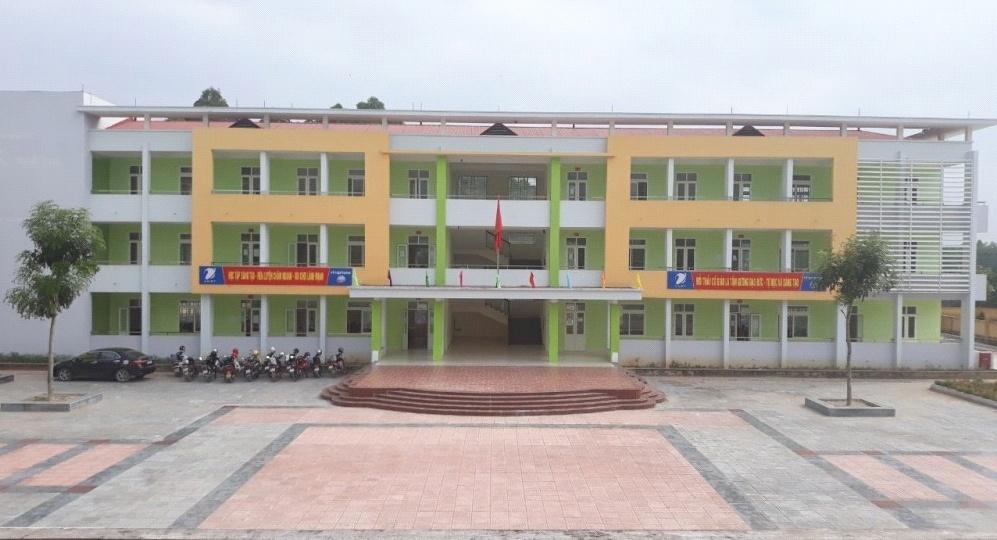 Lập Thạch (Vĩnh Phúc): Nhiều dự án xây dựng trường học hoàn thành trước kế hoạch