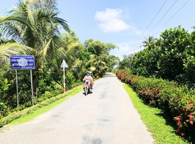 Thêm 2 địa phương của Tiền Giang về đích nông thôn mới