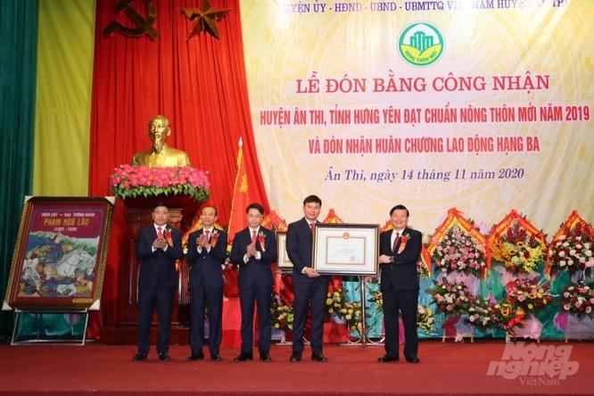 Nông thôn huyện Ân Thi khởi sắc