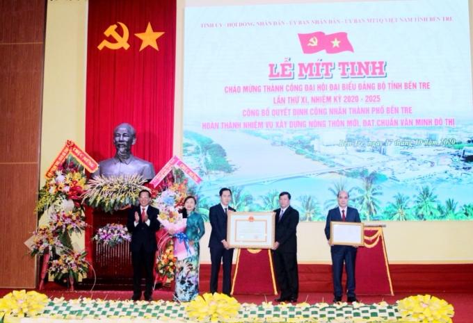Thành phố Bến Tre hoàn thành nhiệm vụ xây dựng nông thôn mới