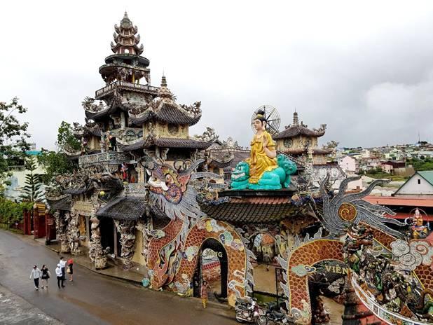 Kết quả hình ảnh cho Chùa tại Lâm Đồng - Đà Lạt