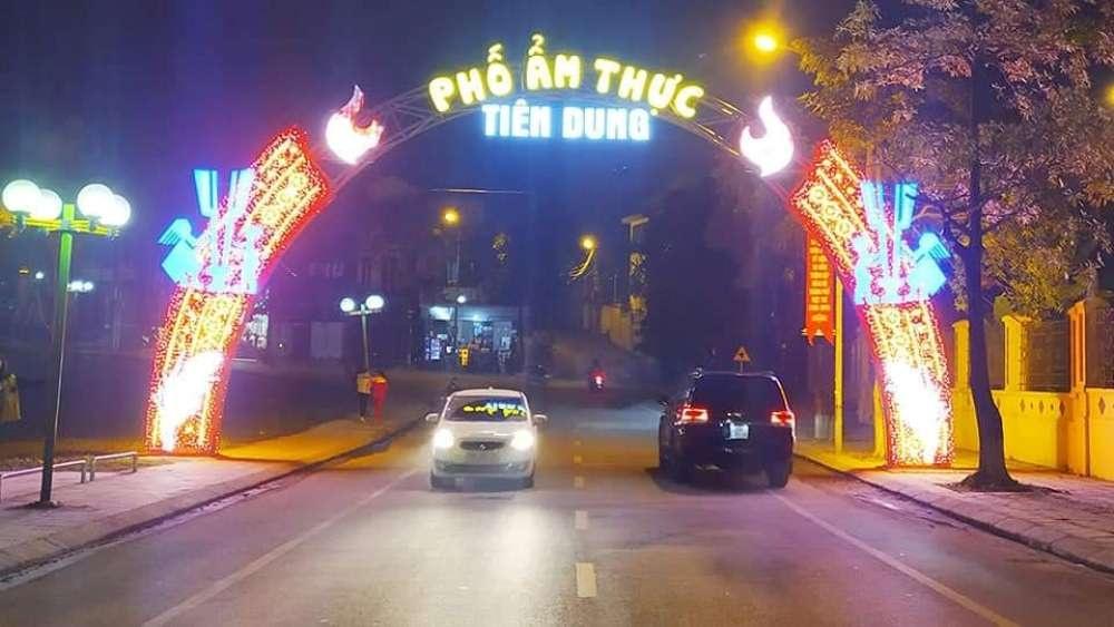 Việt Trì (Phú Thọ): Ra mắt phố ẩm thực thứ hai mang tên Tiên Dung