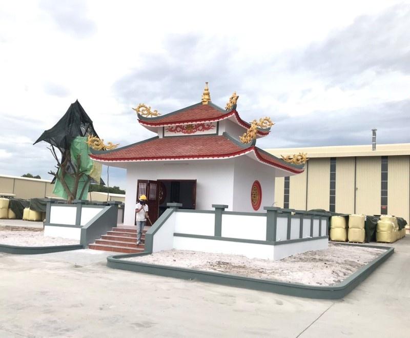 Thừa Thiên - Huế: Công trình miếu thờ đã từng bị lập biên bản, đình chỉ thi công