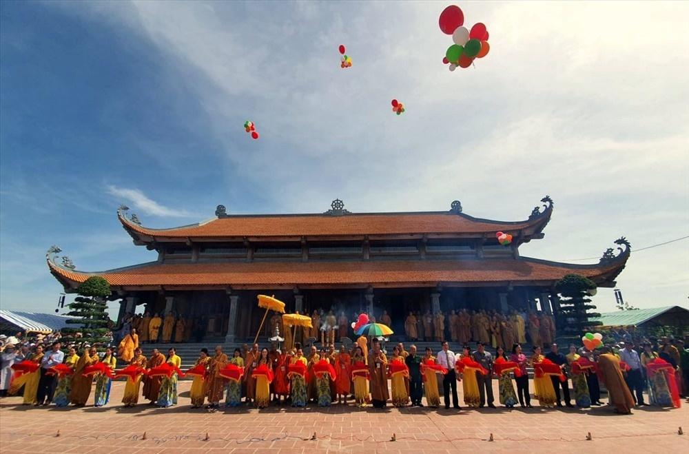 Khánh thành Thiền viện Trúc Lâm Bạc Liêu