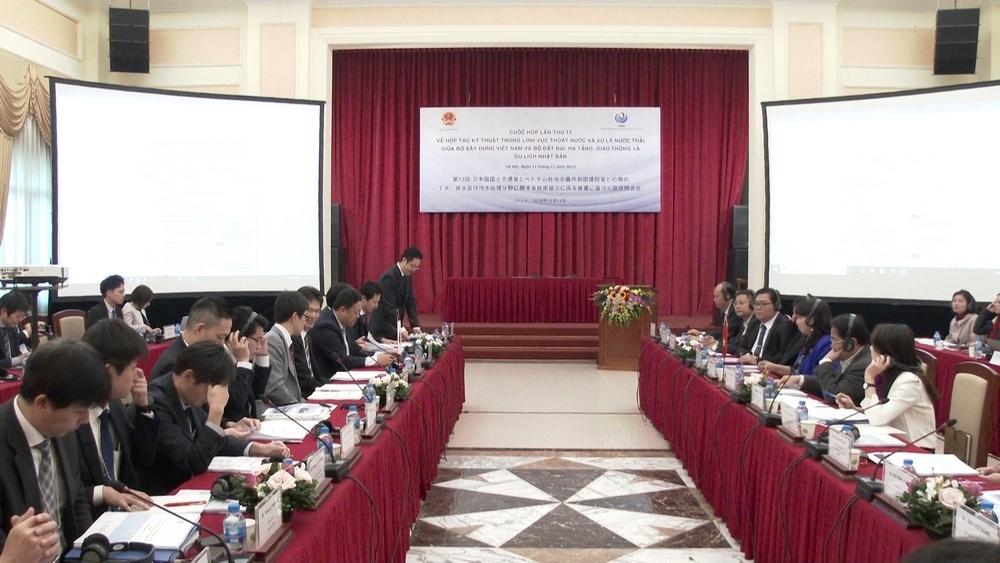 Việt Nam và Nhật Bản: Hợp tác kỹ thuật lĩnh vực thoát nước và xử lý nước thải