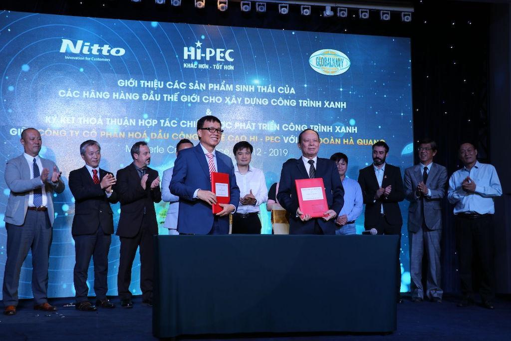 Tập đoàn Hà Quang sử dụng toàn bộ sản phẩm của Hi-PEC