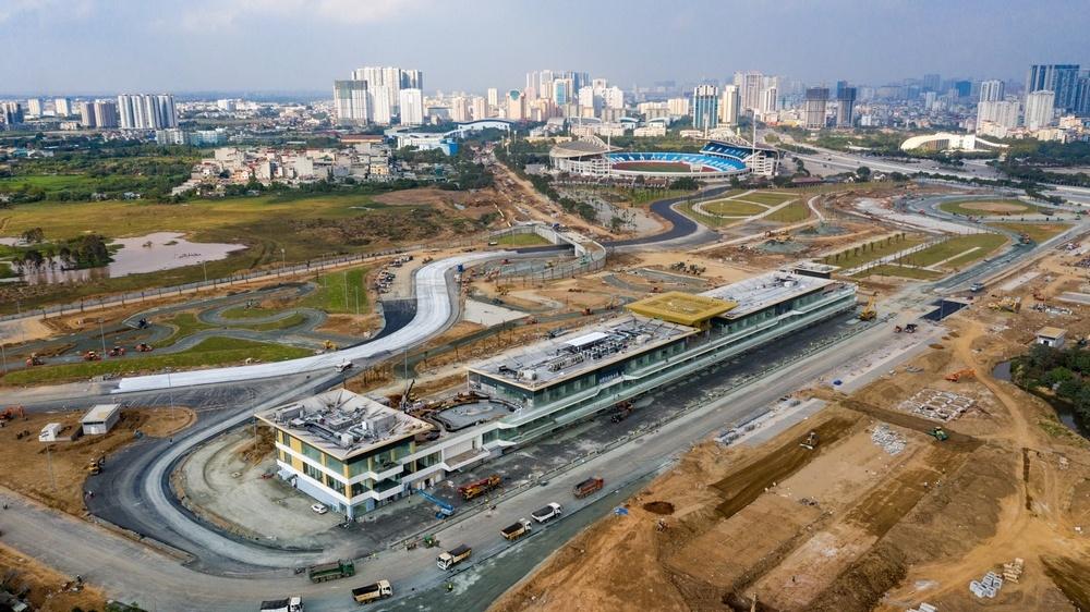 Đường đua F1 Hà Nội đang thành hình
