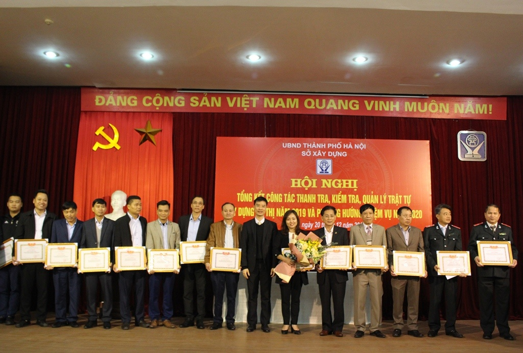 Thanh tra Sở Xây dựng Hà Nội: Giữ vững công tác quản lý  trật tự xây dựng trên địa bàn