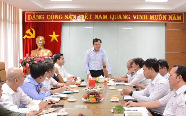 Deputy Minister Le Quang Hung attends meeting to review Southern Task Force in 2019