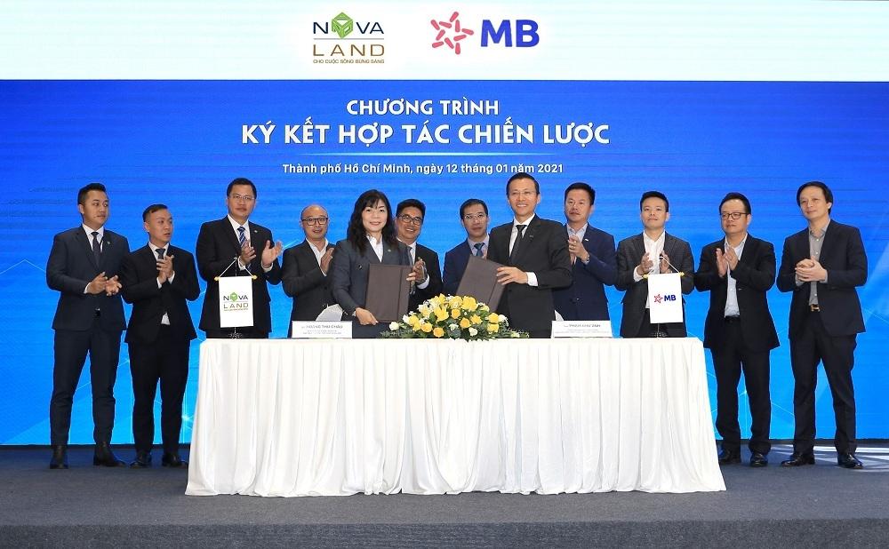 Doanh nghiệp địa ốc và ngân hàng hợp tác gia tăng lợi ích tài chính cho khách hàng