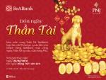 Đặc quyền mua vàng ngày Vía Thần tài không phải xếp hàng của chủ thẻ SeABank