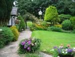 Nguyên tắc thiết kế cảnh quan sân vườn giúp nhà bạn sang trọng