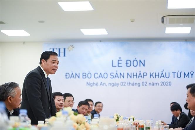 """Bộ trưởng Nguyễn Xuân Cường: """"TH true MILK là một đơn vị hạt nhân trong chiến lược sữa Việt Nam"""""""