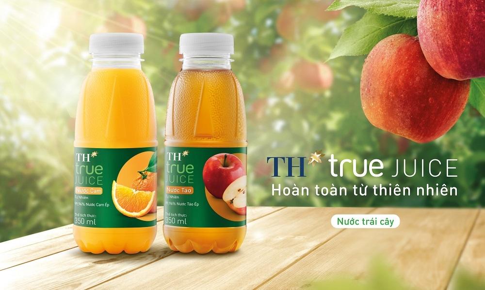 Tập đoàn TH lấn sân thị trường nước trái cây, ra mắt bộ sản phẩm TH true JUICE