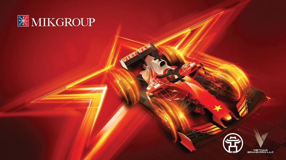 """MIKGroup """"chơi lớn"""" khi đồng hành cùng Giải đua công thức 1 Việt Nam"""