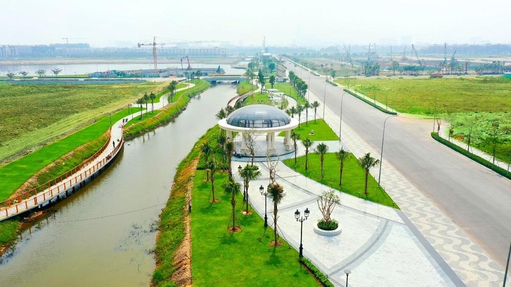 Van Phuc City đưa vào sử dụng công viên 5ha và tuyến phố đi bộ hơn 350 tỷ đồng