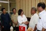 Bộ Xây dựng, CĐXDVN tặng quà các gia đình công nhân Sông Đà
