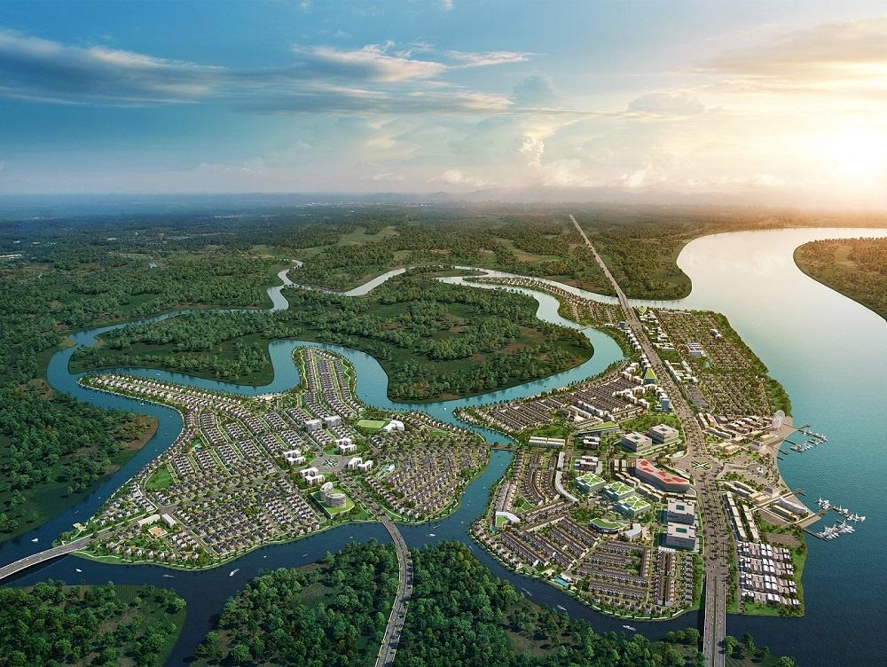 Ứng dụng năng lượng mặt trời, Aqua City từng bước kiến tạo đô thị sinh thái bền vững