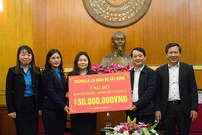 ministry of construction joins hands to combat covid 19