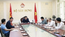 ministry of construction met online to direct implementation of lao national assembly project