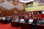 Các lão thành Bộ Xây dựng về thăm lại Nhà máy thủy điện Hòa Bình