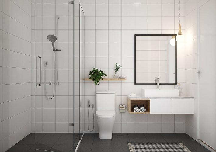 Mẫu phòng tắm đẹp dễ làm và hiện đại
