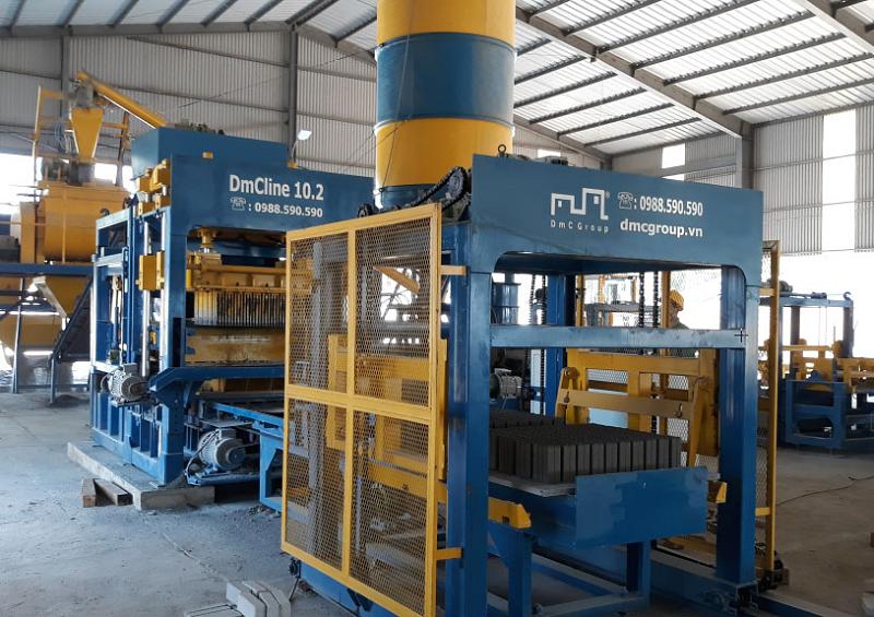 DmCline - Tiên phong công nghệ sản xuất gạch bê tông tại Việt Nam