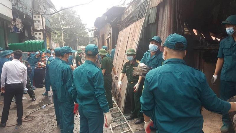 Nam Từ Liêm (Hà Nội): Khu xưởng bị cháy tại Trung Văn xây dựng trên đất lấn chiếm