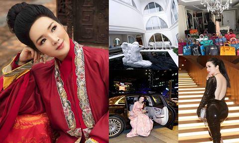 Nhan sắc 'không tuổi' và khối tài sản 'khủng' của Hoa hậu đền Hùng Giáng My