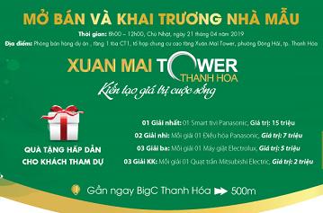 Dự án Xuân Mai Tower Thanh Hóa mở bán chính thức và khai trương căn hộ mẫu