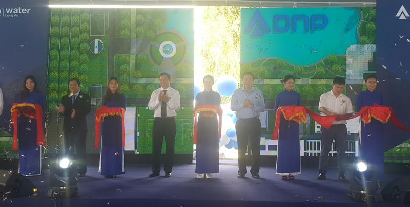 Khánh thành nhà máy nước hiện đại và quy mô lớn nhất Đồng bằng sông Cửu Long
