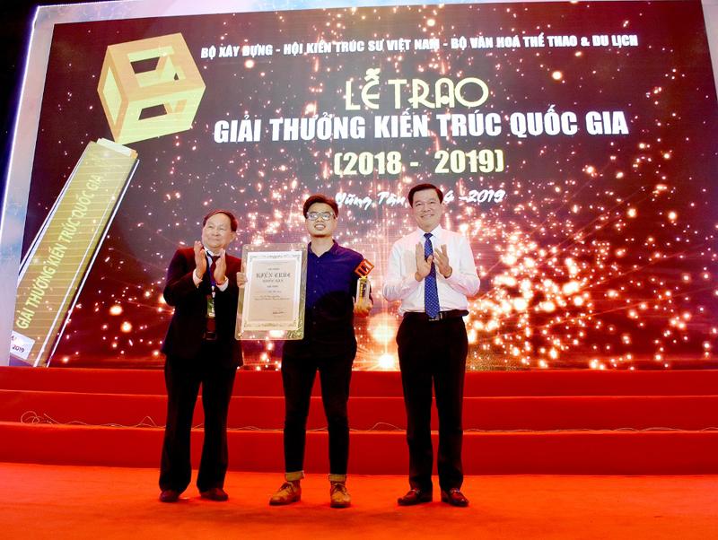 """Tác phẩm """"Nhà Bắc Hồng"""" đoạt giải Vàng tại Lễ trao giải thưởng Kiến trúc quốc gia 2018 - 2019"""