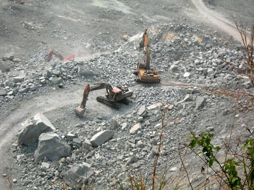 Uông Bí (Quảng Ninh): Tại nạn lao động nghiêm trọng tại mỏ đá Phương Nam