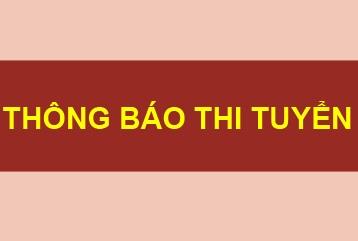 Thông báo thi tuyển phương án thiết kế kiến trúc công trình Bảo tàng tỉnh Cao Bằng