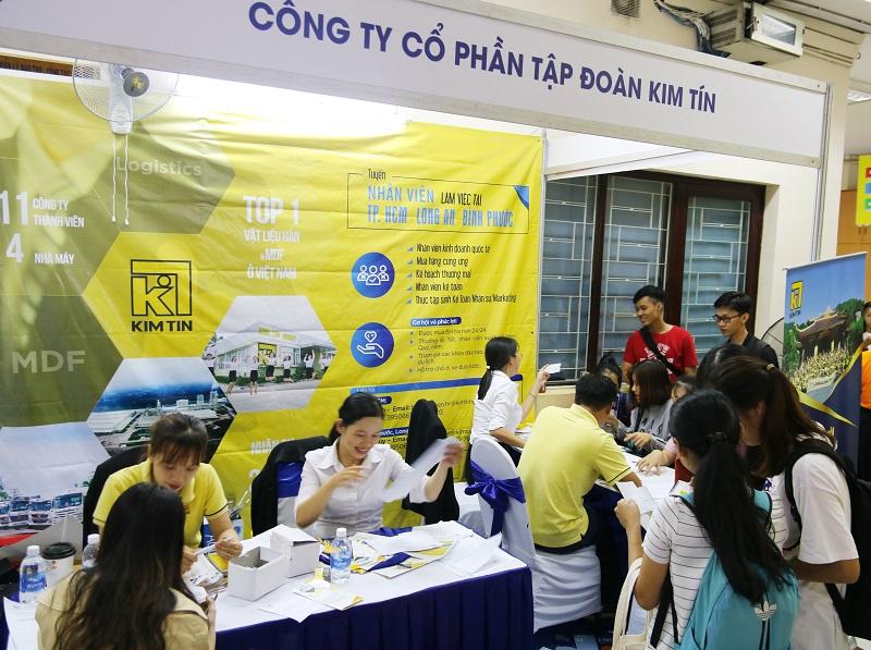 Kim Tín Group đồng hành cùng sinh viên tìm kiếm cơ hội việc làm