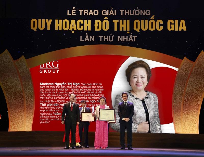 Tập đoàn BRG vinh dự nhận hàng loạt giải thưởng Quy hoạch đô thị Quốc gia 2018
