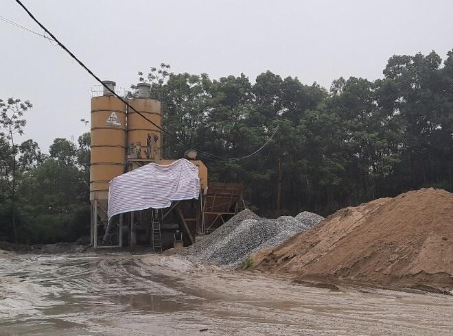 Vĩnh Phúc: Dừng hoạt động của trạm trộn bê tông Tuổi Trẻ chi nhánh Sông Lô để hoàn thiện hồ sơ pháp lý