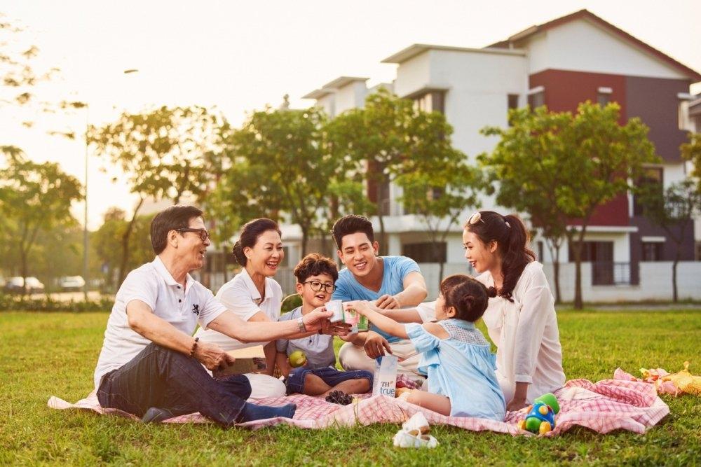 Không gian sống nào lý tưởng cho gia đình 3 thế hệ thời hiện đại?