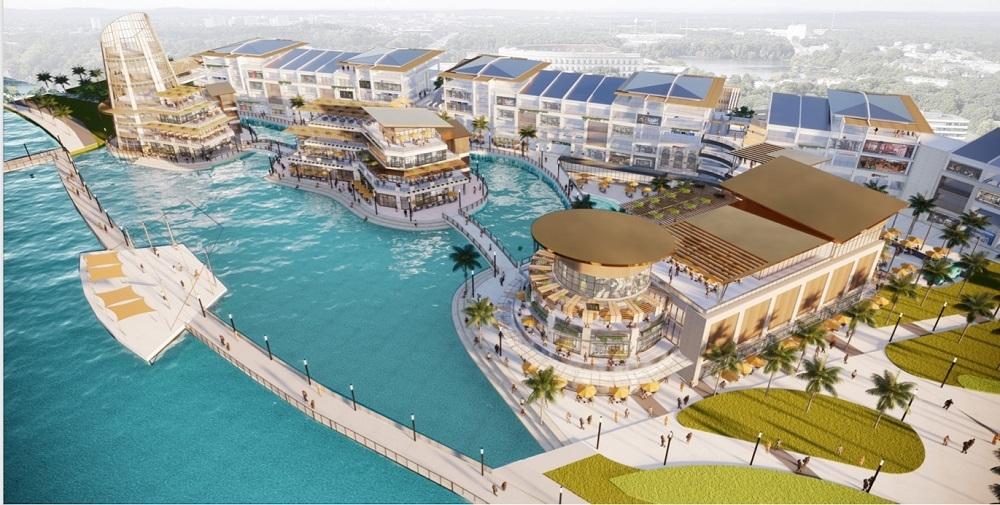 Triển khai đại trung tâm thương mại trên mặt nước đầu tiên của Việt Nam