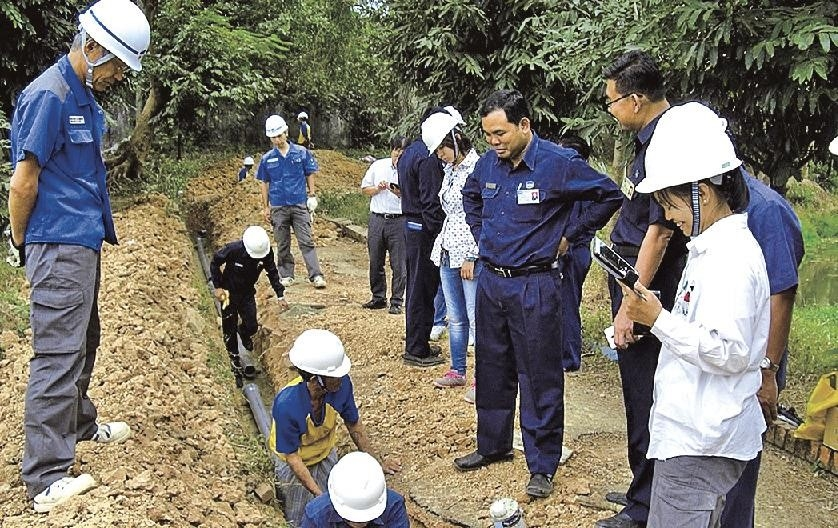 tokyo metro government assisting southeast asian cities with water and sewage development