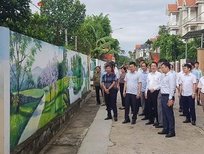 Vĩnh Phúc tập trung xây dựng nông thôn mới nâng cao