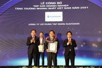 austdoor duoc vinh danh top 10 doanh nghiep tang truong nhanh nhat viet nam 2021
