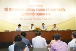 Kỳ họp thứ 5 Quốc hội khóa XIV quyết định nhiều vấn đề quan trọng