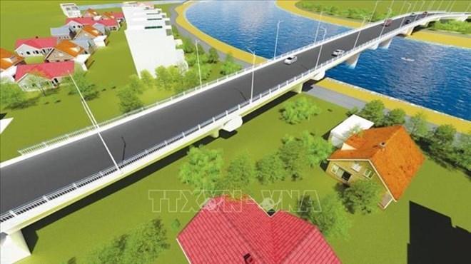 Work starts on bridge connecting Hai Phong to Thai Binh