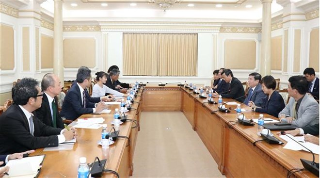 Ho Chi Minh City, Japan boost economic ties