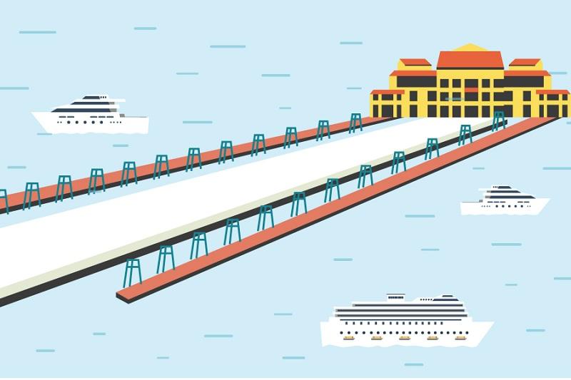 Khám phá bến thủy nội địa – Cảng tàu khách quốc tế Hạ Long
