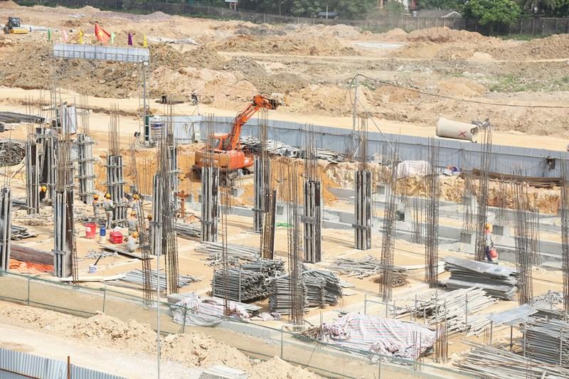 Thái Hưng đẩy mạnh tiến độ thi công Khu đô thị Crown Villas